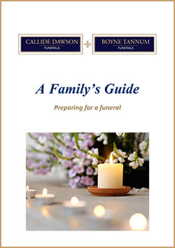 A Family's Guide - Preparing for a Funeral Booklet